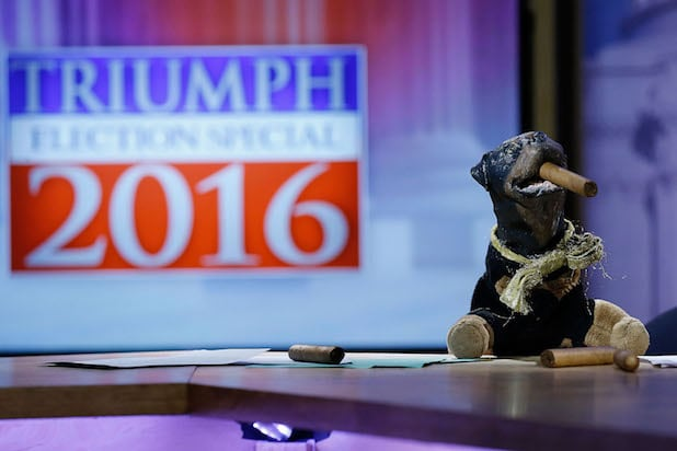 "Hulu Presents ""Triumph's Election Special"" Produced By Funny Or Die"