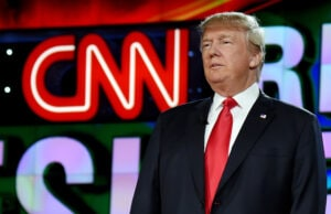 Donald Trump on CNN inauguration livestream
