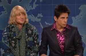 Zoolander SNL Weekend Update