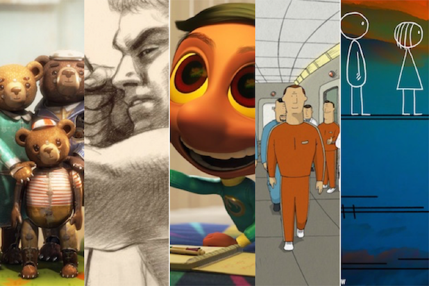 Animated Short Oscar nominees