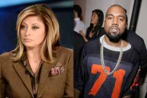 Maria Bartiromo/Kanye West