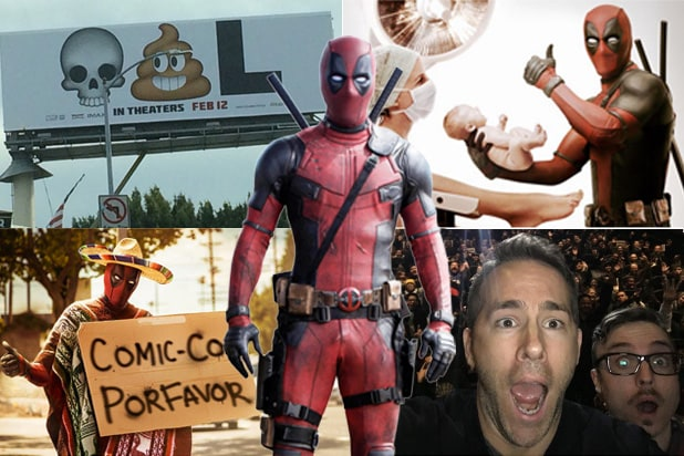 deadpool marketing