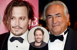 Johnny Depp Brett Ratner Dominique Strauss-Kahn