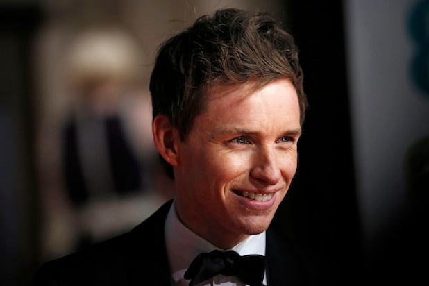 Actor Eddy Redmayne