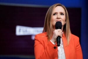 Full Frontal with Samantha Bee- rehearsal