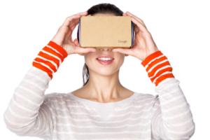 Google's Cardboard virtual reality headset