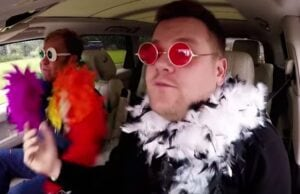 james corden elton john carpool karaoke