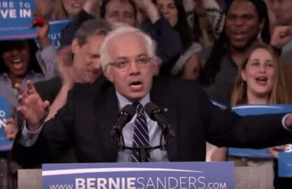 Jimmy Fallon as Bernie Sanders