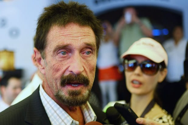 Anti-Virus Software Magnate John McAfee