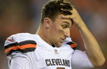 johnny manziel nfl cleveland browns