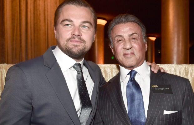 Leonardo DiCaprio Sylvester Stallone Academy Awards Luncheon Oscars