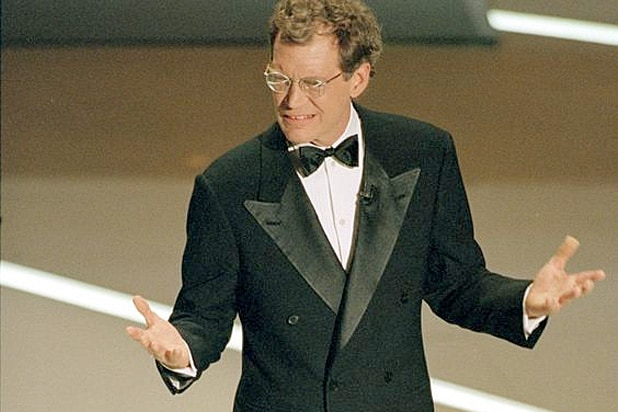 David Letterman Oscar host