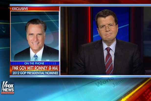 Mitt Romney Neil Cavuto Donald Trump