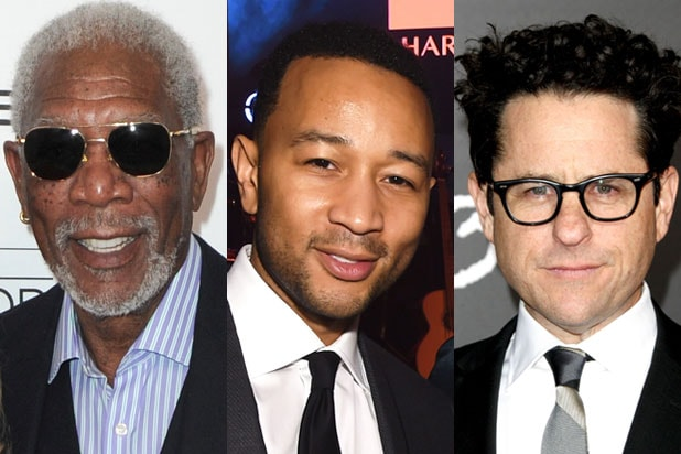 morgan freeman john legend jj abrams