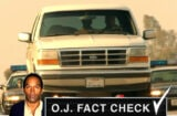 OJ Simpson White Bronco
