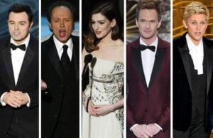 Oscars hosts
