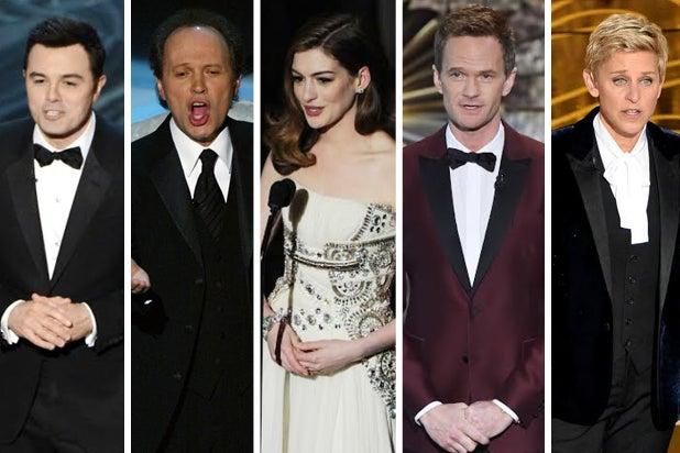 Oscars hosts