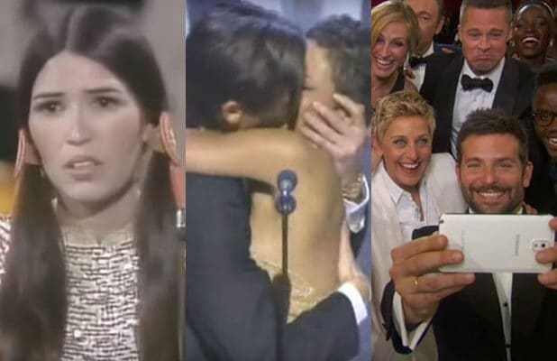 most memorable oscar moments