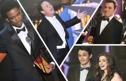 Oscar hosts