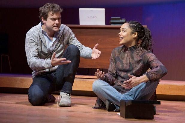 Smart People Joshua Jackson and Tessa Thompson