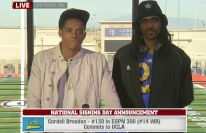 Snoop Dogg Cordell Broadus National Signing Day