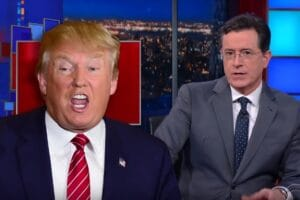 stephen colbert donald trump