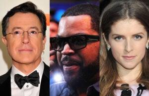 Stephen Colbert Ice Cube Anna Kendrick