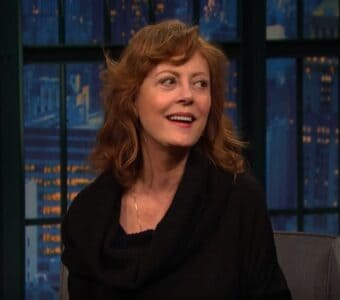 susan sarandon cleavage piers morgan