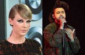 taylor swift the weeknd iheartradio music awards