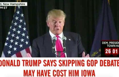 Donald Trump Today Feb 3 2016