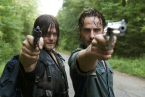 walking dead andrew lincoln norman reedus