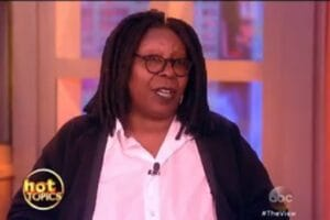 whoopi goldberg the view hillary clinton