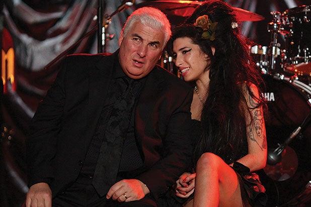 Mitch and Amy Winehouse