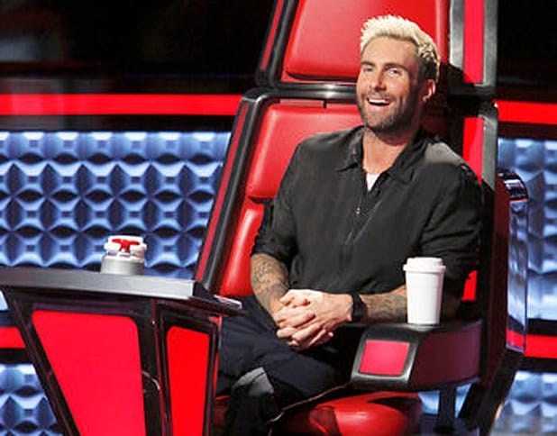 "Adam Levine on ""The Voice""/ NBC"
