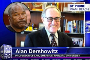 Alan Dershowitz and OJ Simpson