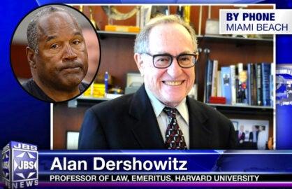 Alan Dershowitz and OJ Simpson
