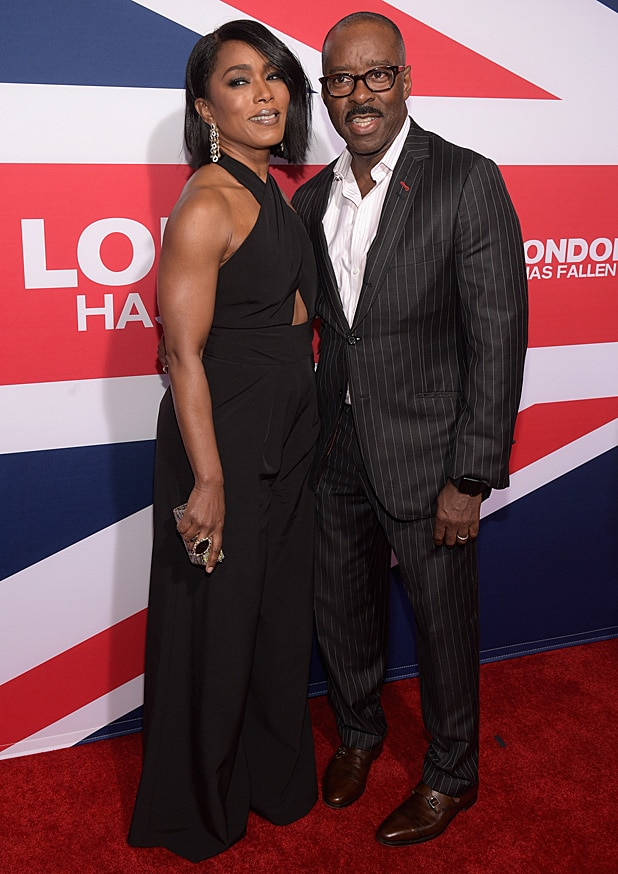 "Angela Bassett and Courtney B. Vance ""London Has Fallen"" - Arrivals"