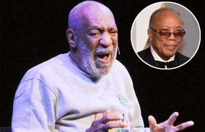 Bill Cosby and Quincy Jones