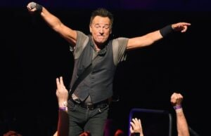 Bruce Springsteen at the Los Angeles Sports Arena