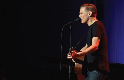 Bryan Adams' guitar defaced