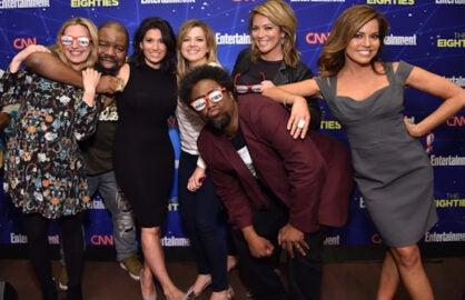 CNN 80s Party