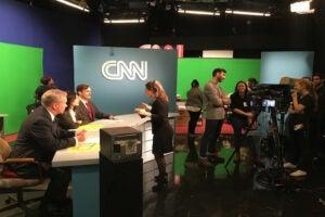 CNN 80s VR Shoot