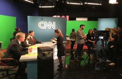 CNN 80s VR Shoot