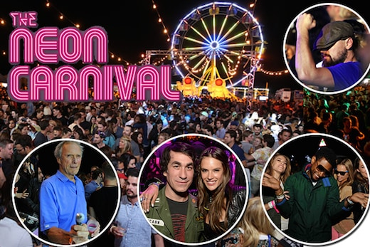 A cover photo of Neon Carnival 2016: An overnight throbbing and glowing oasis in the desert.