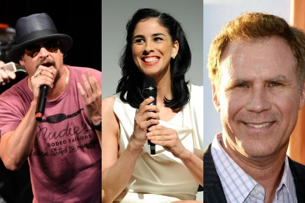 Sarah Silverman Will Ferrell Kid Rock Celebrities Switching Endorsements 2016