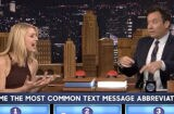 Claire Danes on Jimmy Fallon copy