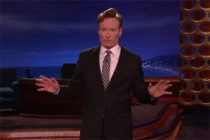 Conan O Brien Garry Shandling