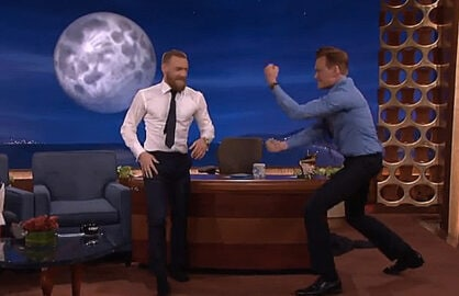 Conor McGregor on Conan O'Brien