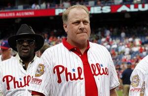 ESPN baseball analyst Curt Schilling