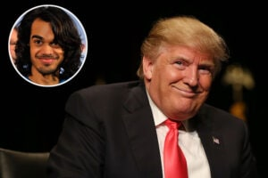 Donald Trump and Sanjaya Malakar